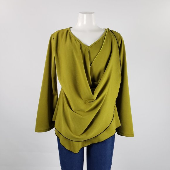 Babs Vancouver Acid Green Top Size M